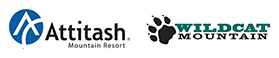 Attitash Wildcat Ski Resort logos