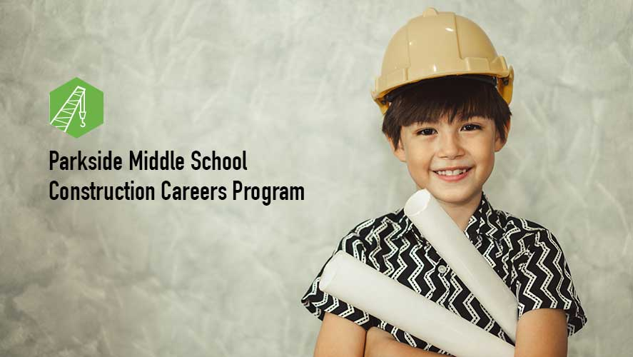 Parkside Middle School Construction Careers Program in Manchester NH through NH SPI